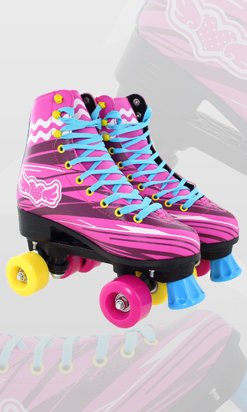 Wrotki retro LET'S ROLLER SKATE!